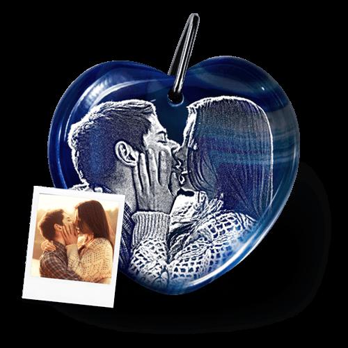 Romantischer Schlüsselanhänger Herz