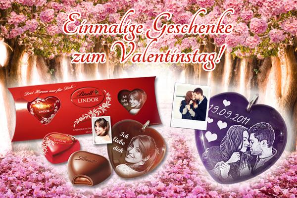 Persönliche & personalisierte Geschenke zum Valentinstag