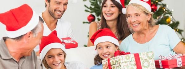 Weihnachtsgeschenke für die Familie