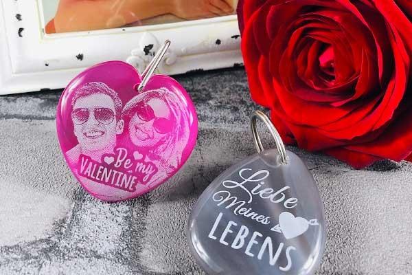 Personalisierte Valentinstag Geschenke für Frauen