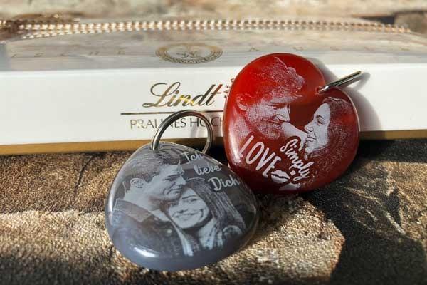 Valentinstag 2019 - personalisierte Geschenke mit Gravur