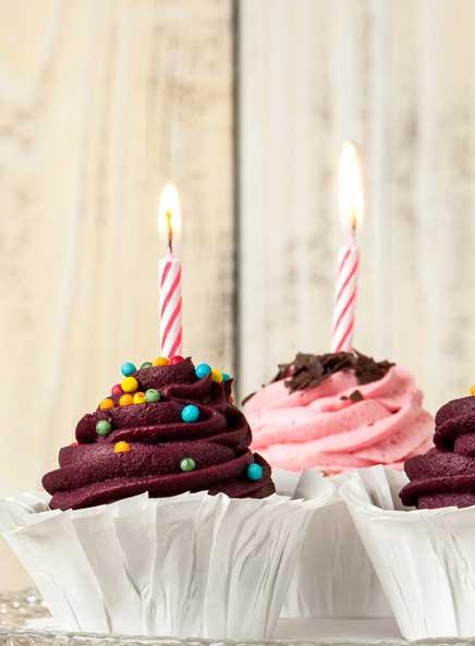 Kuchen der von Herzen kommt